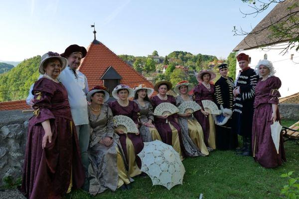 Zrinsko-Frankopanski ozaljski dvorski balovi prizivaju davno minula vremena