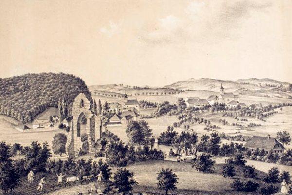 Sve što je ostalo od veličanstvene crkve je portal koji je ruševan stajao 461 godinu i postao zaštitni znak Topuskog