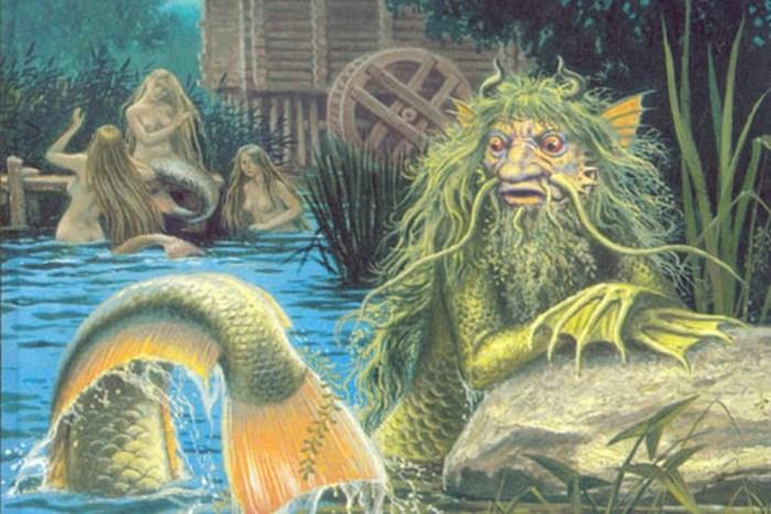 U mitskoj zemlji sedam rijeka iza mora, Rusalke su mamile ljude, imela štitila od vukodlaka a vodeni duhovi razvrstavali su ribu