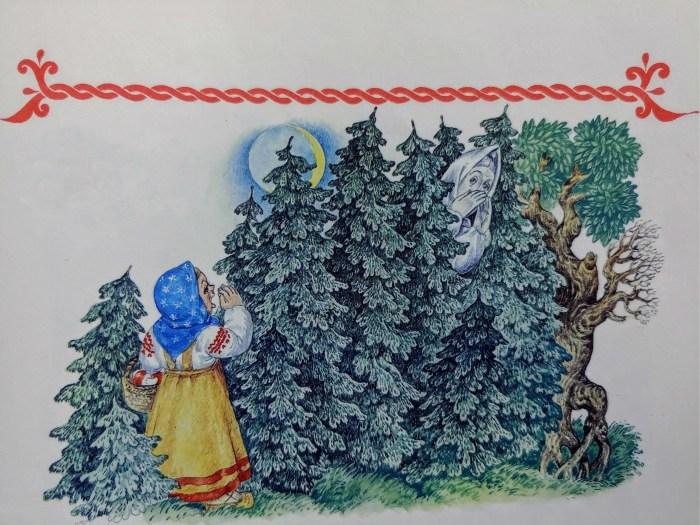 Duboko u šumi, gdje svjetlo uzmiče pred sjenom, stoluje Lešij, taj šumski duh koji čuva životinje i otima žene