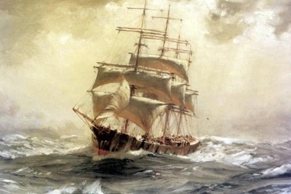 Te olujne noći bark Stefano je potonuo, a posada ostala sama na drugom kraju svijeta sve dok je nisu spasili  Aboridžini