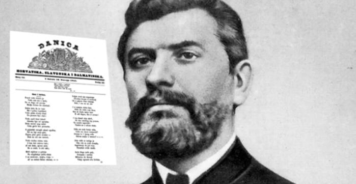 Prvi stihovi pjesnika A. V. Rastevčića, poznatijeg i kao oca domovine Ante Starčevića