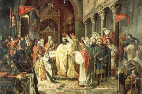 Kralj Zvonimir progonio je zle i pomagao dobrima, i prema legendi, umirući izrekao kletvu koja i danas izaziva kontroverze