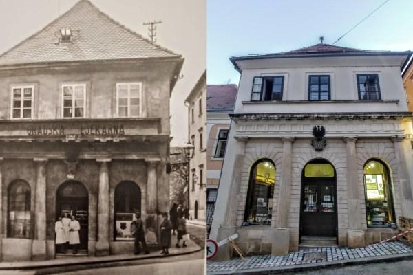 Kroz duge godine mijenjala je mjesta i vlasnike, ali ljekarna K crnom orlunikad nije prestala s radom