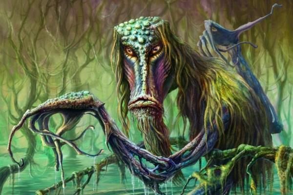 Bića iz voda koje stoje nazivaju Grabarima, oni dugim ljigavim rukama grabe sve koji se približe i zagaze preduboko