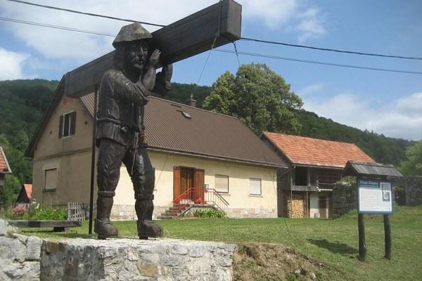 Goranski div Petar Klepac snagu je dobio od vila koje je na Svetoj gori jednom zaštitio od sunca, i postao simbol Čabra