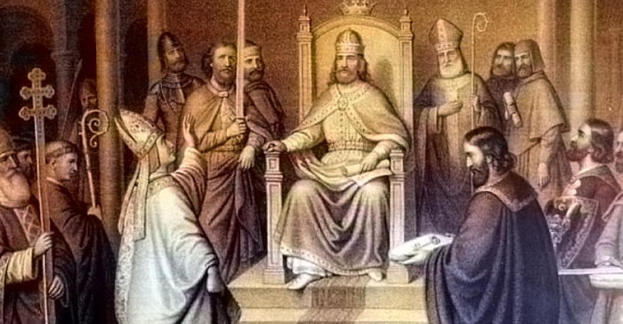 Na Badnjak, dobri kralj Petar Krešimir IV zaklon je potražio u kućici ostarjelog sokolara Aprića, uz sir i mlijeko, sjeli su i dugo razgovarali