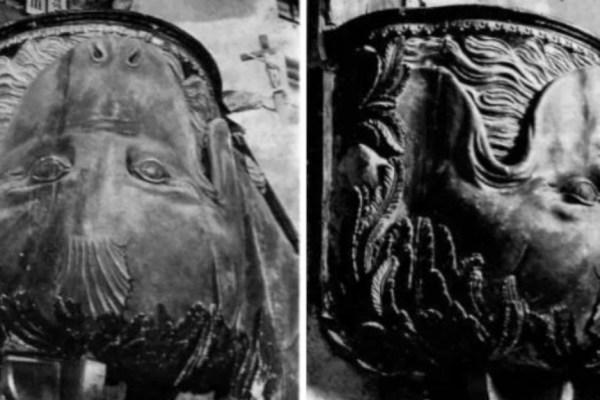 Jedinstvenu i neobičnu, Joninu ribu izradio je bezimeni majstor i postavio je u crkvu koju su nekoć zvali kamenom bazilikom