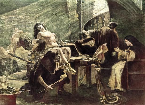 Jednom kad je nevina optužena da je vještica, došli bi po nju, odveli je na kušnju, a onda je započela tortura