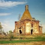 Церковь Илии Пророка в Прусах Коломенского района Московской области. Период: 1 мая 2003 года