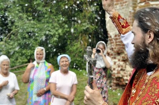 Престольный праздник в храме Николая Чудотворца в Дарищи