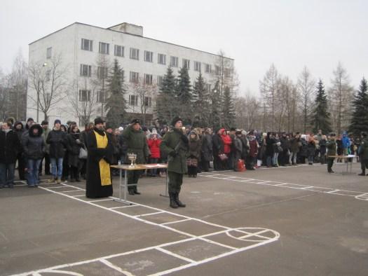 Присяга военнослужащих срочной службы войсковой части № 17204
