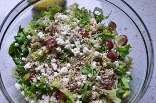 salad, pre toss