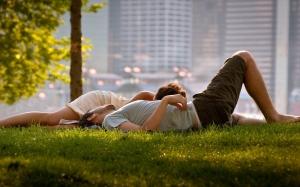 Couple-Relaxing-Grass