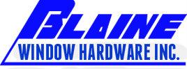 Blaine Window Logo