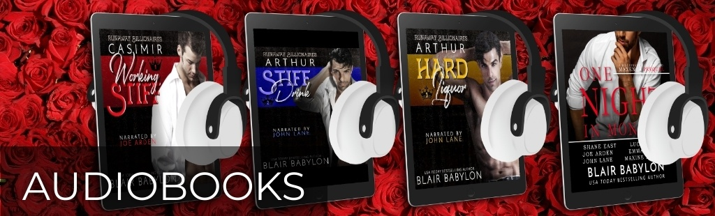 Audiobooks by Blair Babylon. Click here for list.