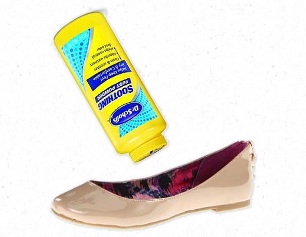 Powder Your Shoes {Making the Mundane Marvelous} | Blair Blogs