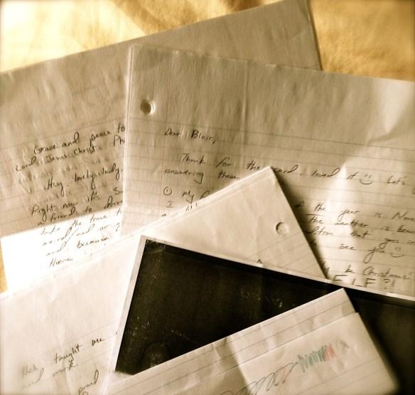Send a Letter {Making the Mundane Marvelous} | Blair Blogs
