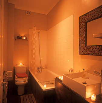 Shower with Candles {Making the Mundane Marvelous} | Blair Blogs
