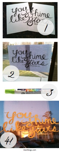 Window Painting 101 Pinterest | Blair Blogs