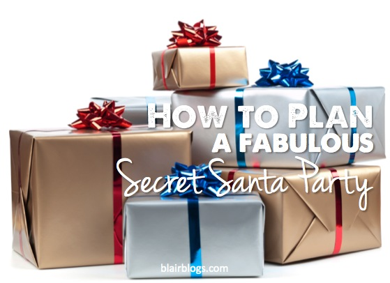Secret Santa Synchro | Blair Blogs