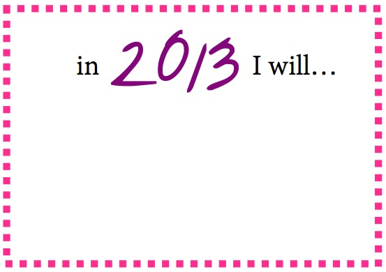 New Year's Resolution Cards Free Printables | Blair Blogs