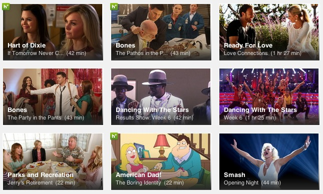 Hulu Plus | Blair Blogs