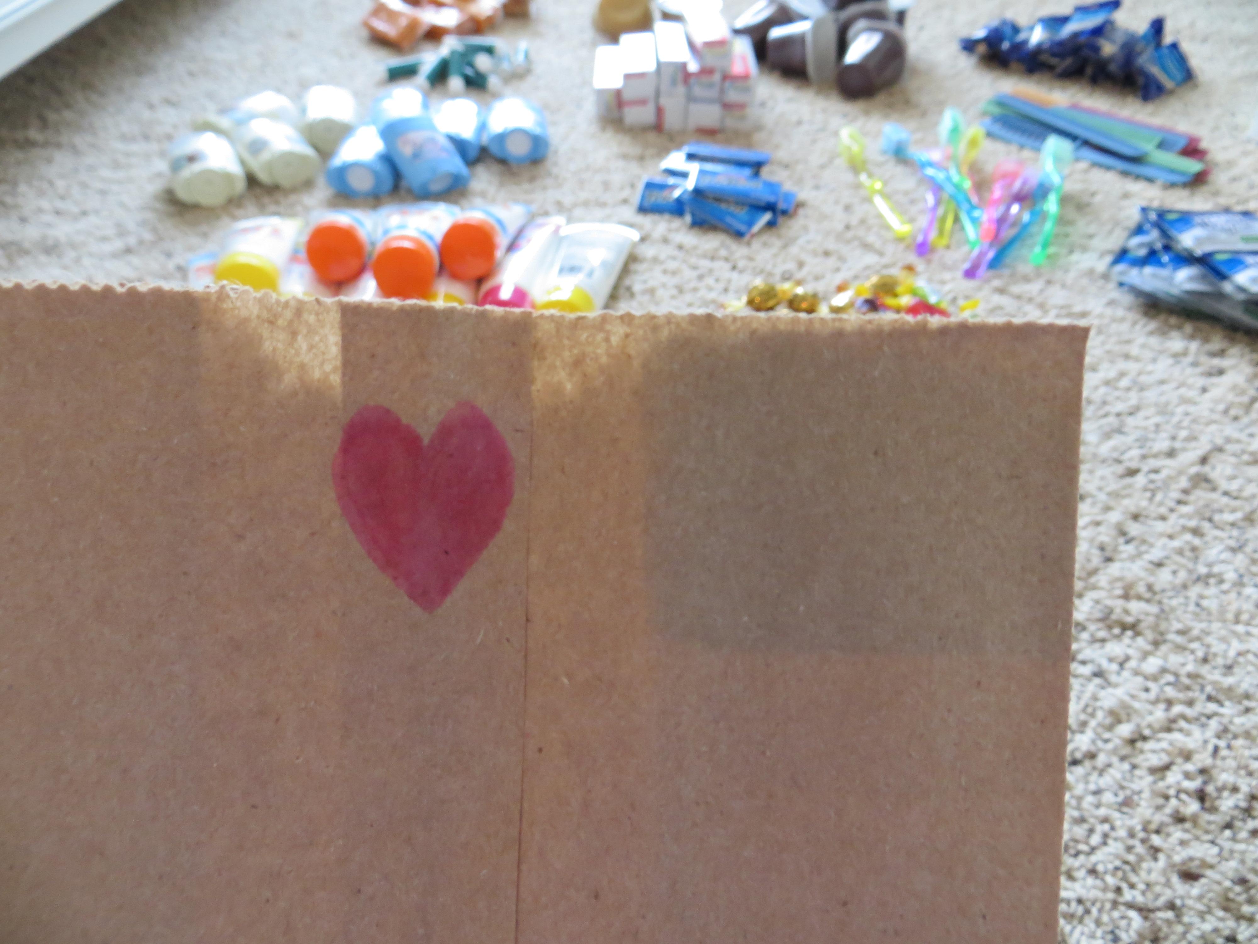 Blessing Bags for the Homeless - Blair Blogs