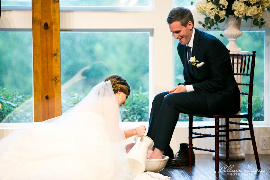 How We Incorporated Foot Washing Into Our Wedding Ceremony (With Video)