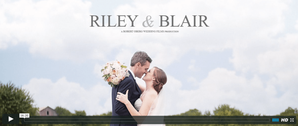 Our Wedding Film | Blairblogs.com
