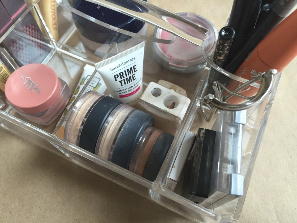 Organizing My Makeup | Blairblogs.com