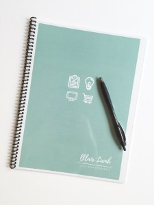 How To Create Your Own Planner   BlairBlogs.com