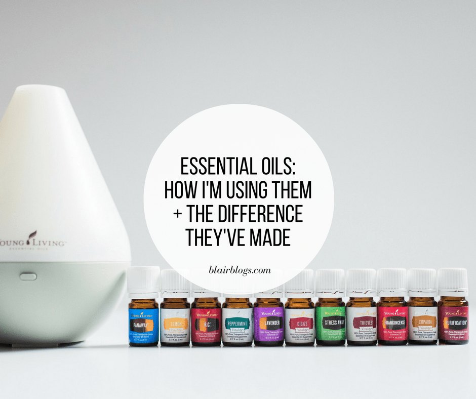 Essential Oils: How I'm Using Them + The Difference They've Made