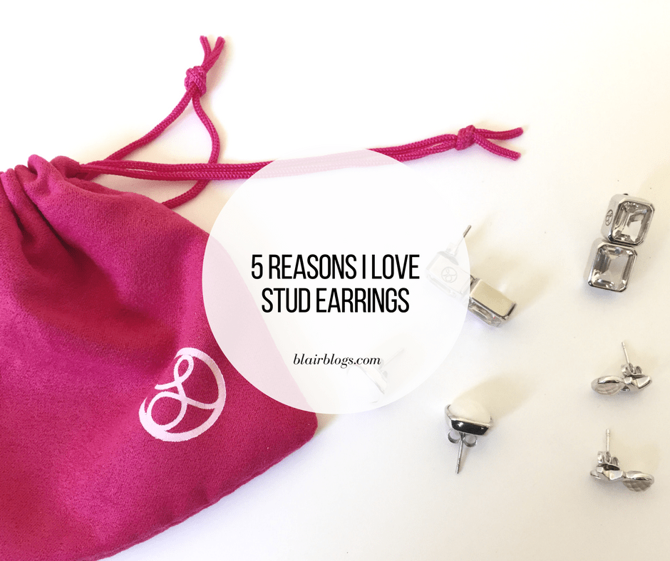 5 Reasons I Love Stud Earrings