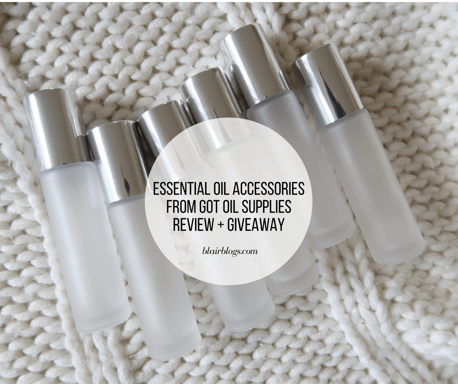 Got Oil Supplies Review + Giveaway | Essential Oil Accessories | BlairBlogs.com