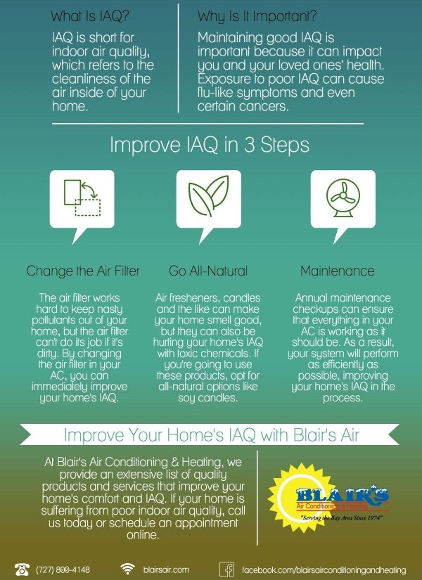 10 Ways to Improve the Air Quality in Your Home | Blair's ...
