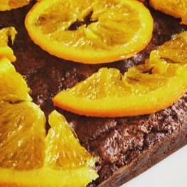 Appelsínugult og brúnt - góð blanda.