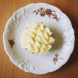 Hvítt súkkulaði og hunang - skemmtileg blanda.