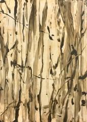 "Untitled, acrylic on panel, 44x32"", 2010"
