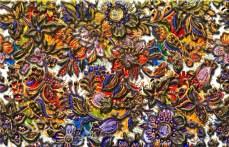 Digital Floral Pattern Art