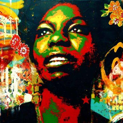 Nina Simone by Nahu