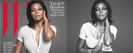 Taraji P Henson en Une de W Magazine