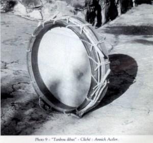 Le tanbou dibass (Tambour basse, ou encore tambour basque) (Martinique)