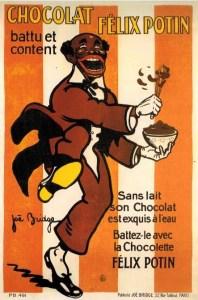 Publicité pour le chocolat Felix Potin