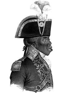 Toussaint Louverture portrait par Nicolas Eustache Maurin (1838).