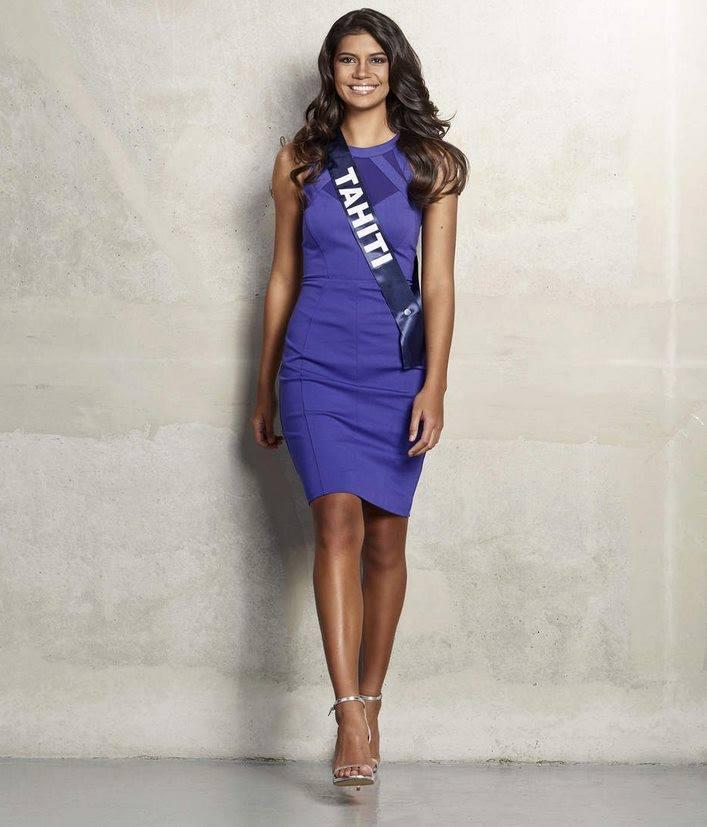 Azuima Issa Miss Tahiti/ Facebook@Azuima-Issa-Miss-Réunion-2015