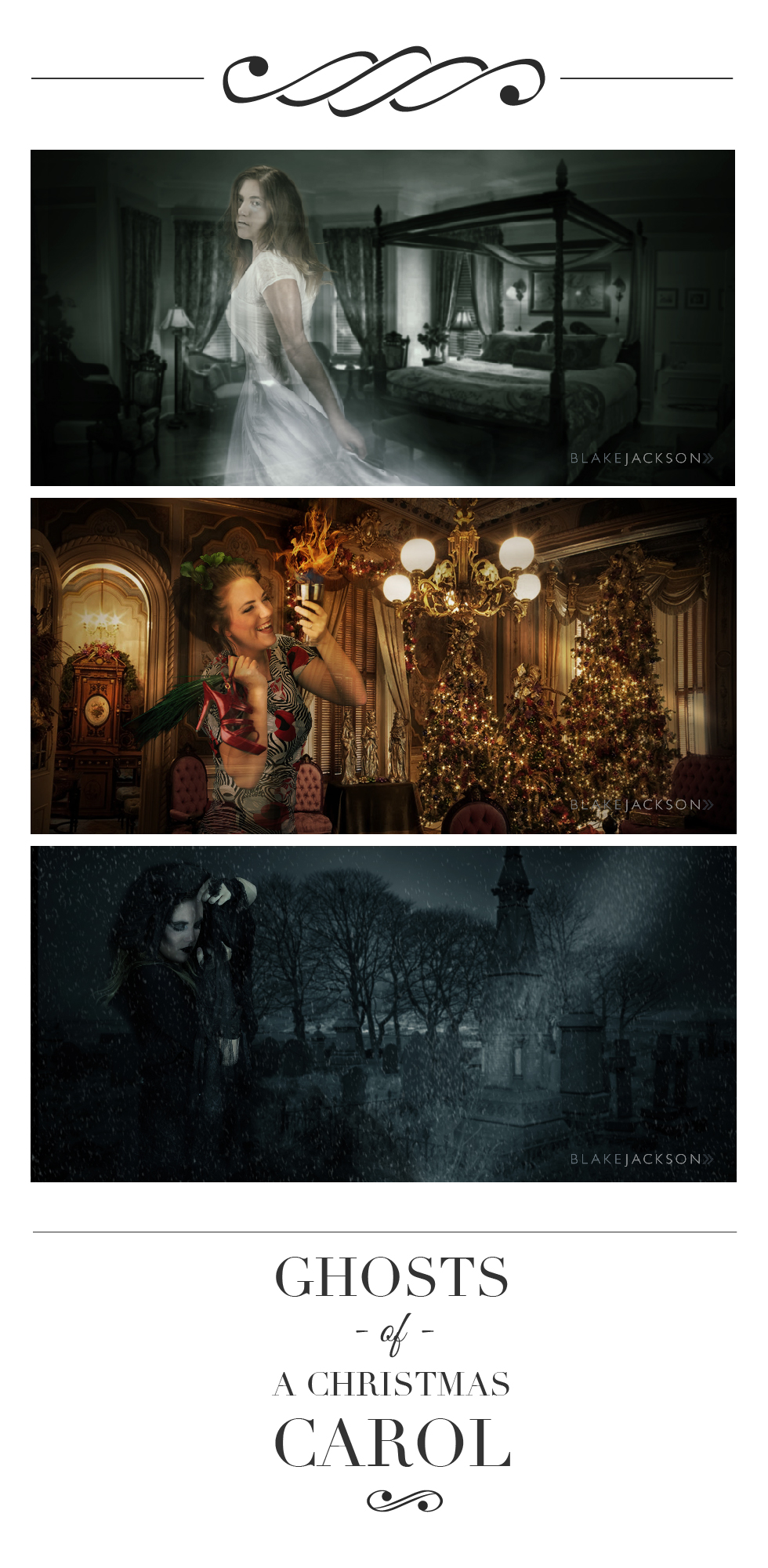 Blake Jackson Creative | Ghosts of a Christmas Carol