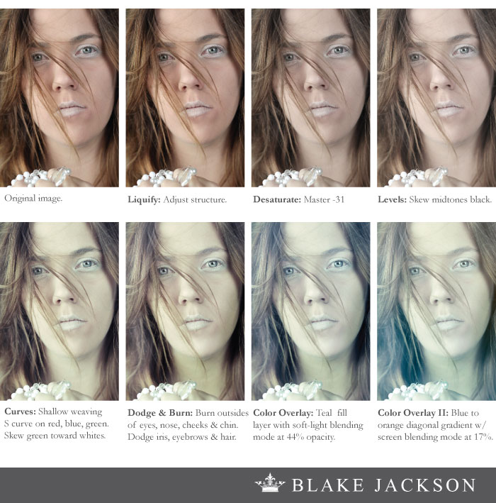Blake Jackson Creative | Before & After Ghost Shoot
