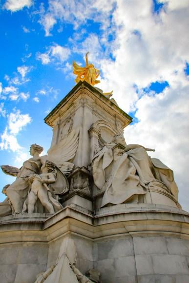 The Victoria Memorial.