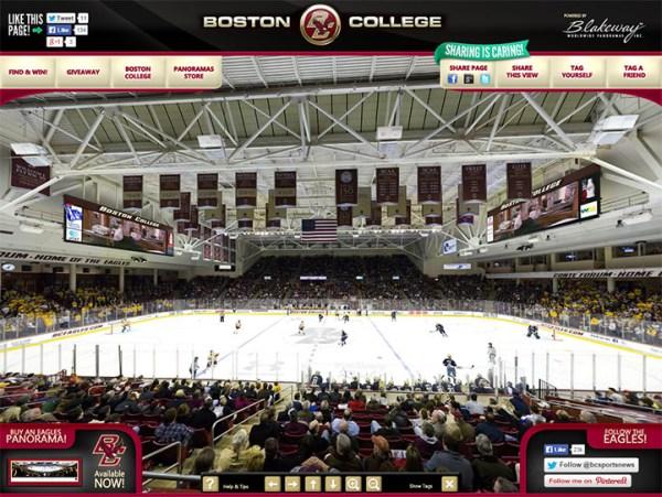 Boston College Eagles - Blakeway Gigapixel